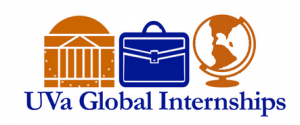 UVA Global Internships Logo: Visit us online at https://globalinternships.virginia.edu