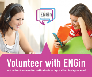 Volunteer with ENGin