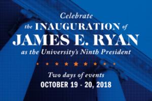 Inauguration of James E. Ryan